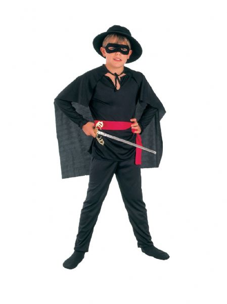 Boys Bandit Budget Costume Wild West Robber Fancy Dress Outfit